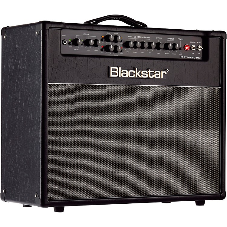 Blackstar HT Venue Series Stage 60 60W 1x12 Tube Guitar Combo Amp MKII Black