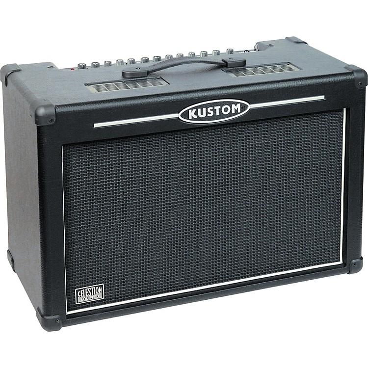KustomHV100 High Voltage Series Guitar Combo AmpBlack