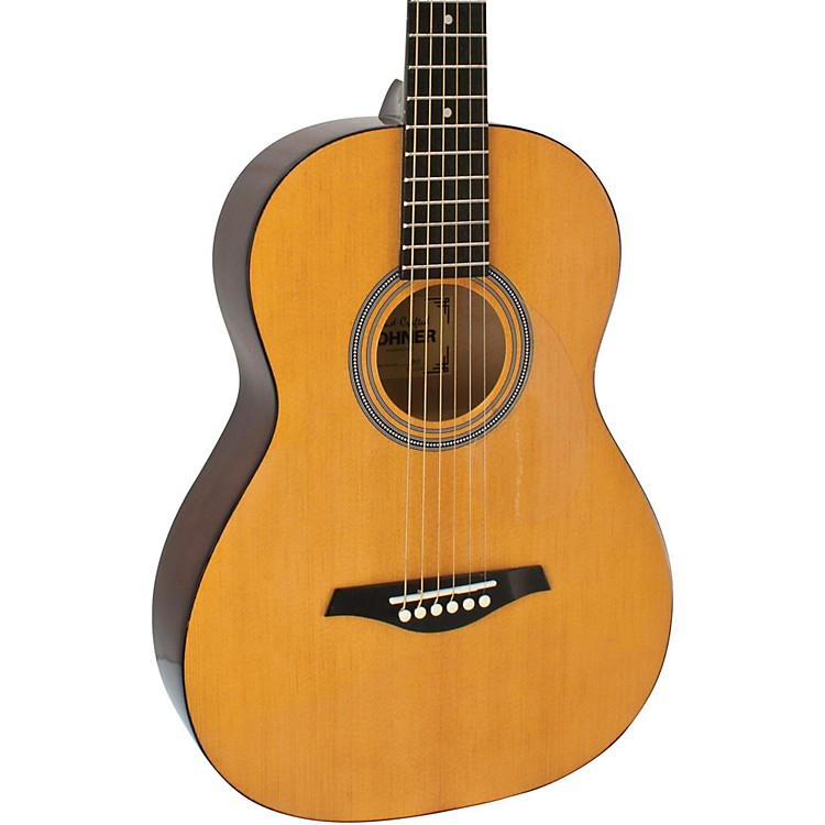 hohner hw03 3 4 sized steel string acoustic guitar music123. Black Bedroom Furniture Sets. Home Design Ideas