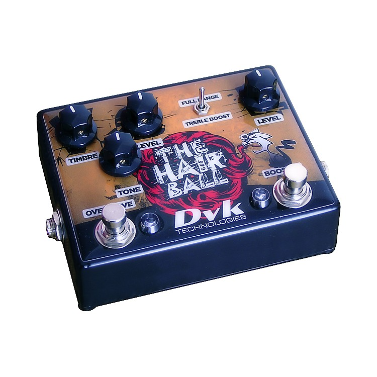 DVKHairball Fuzz and Boost Guitar Effects Pedal