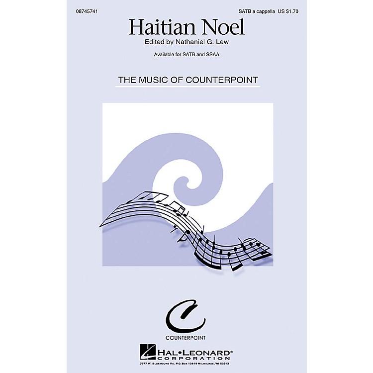 Hal LeonardHaitian Noel SSAA A Cappella