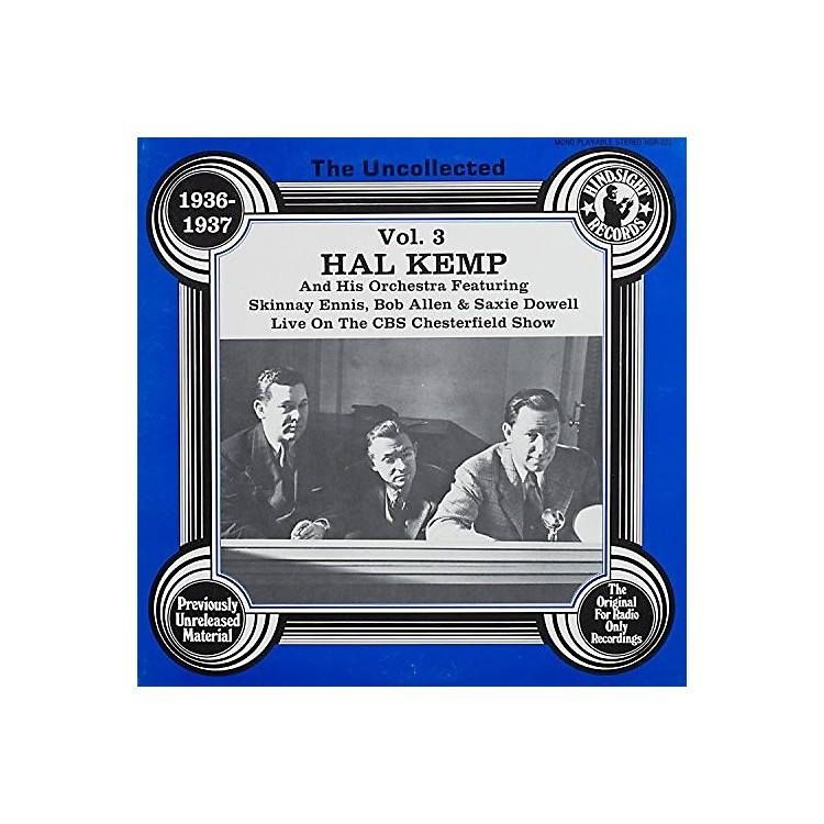 Alliance Hal Kemp & Orchestra - Uncollected Volume 3