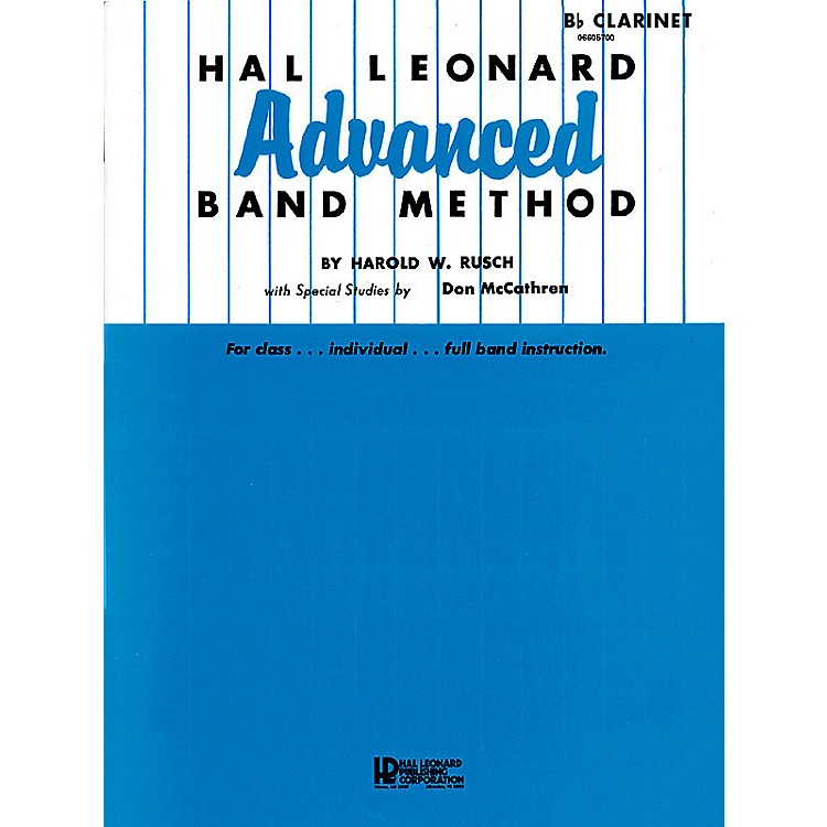 Hal LeonardHal Leonard Advanced Band Method (French Horn in F) Advanced Band Method Series by Harold W. Rusch