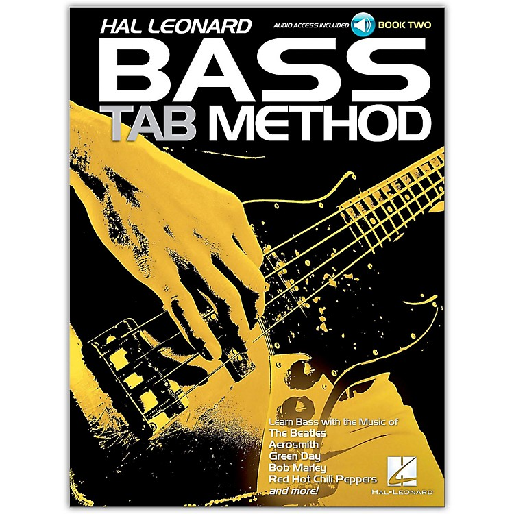 Hal Leonard Hal Leonard Bass Tab Method Book 2- Book/Online Audio