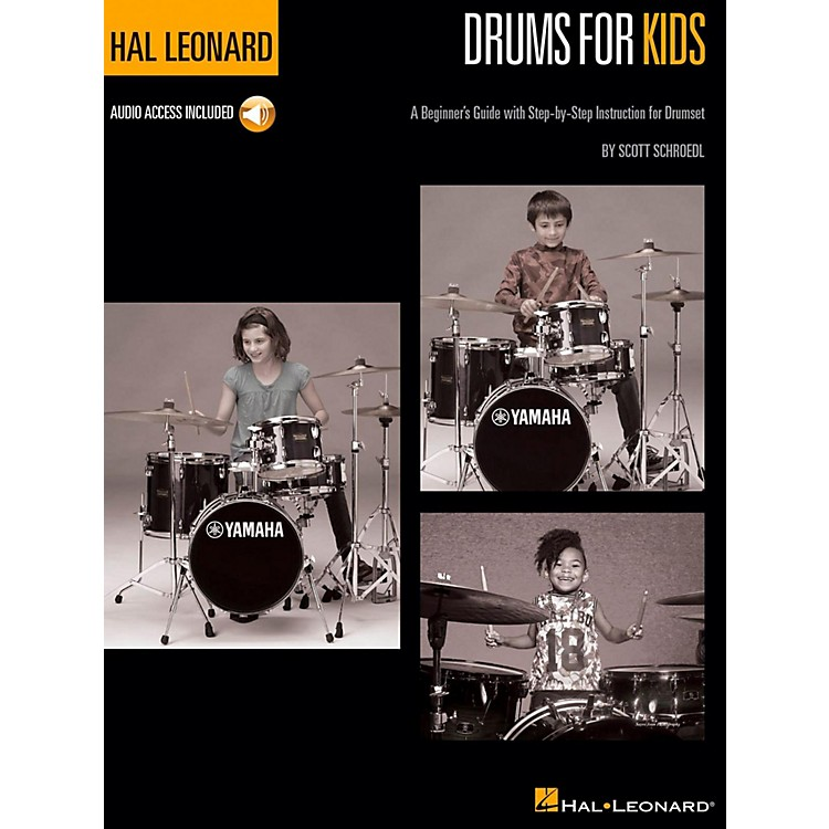 Hal LeonardHal Leonard Drums for Kids - A Beginner's Guide with Step-by-Step Instruction for Drumset Book/Audio Online