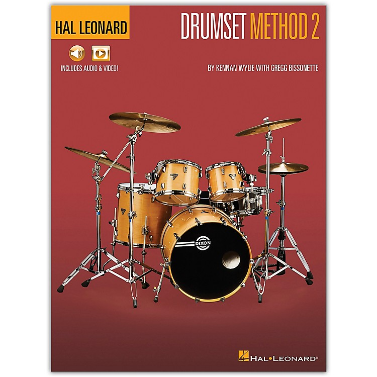 Hal LeonardHal Leonard Drumset Method - Book 2   Book/Media Online