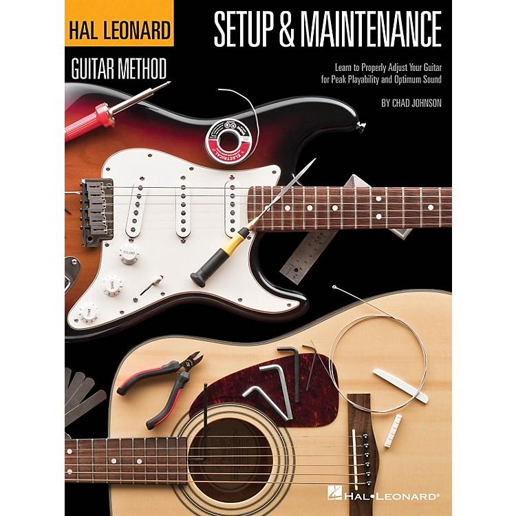 Hal LeonardHal Leonard Guitar Method - Setup & Maintenance Guitar Method Series Softcover Written by Chad Johnson