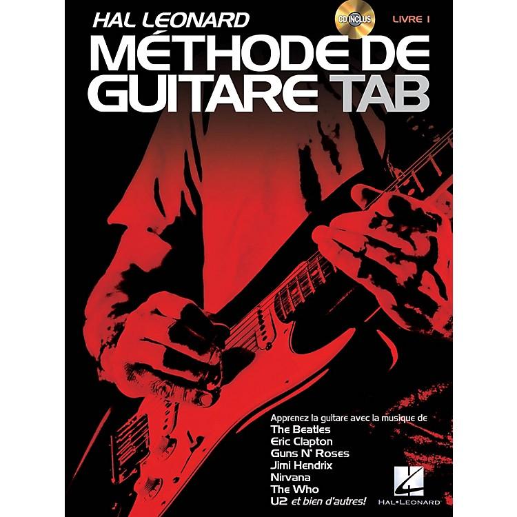 Hal LeonardHal Leonard Méthode de Guitare Tab Guitar Tab Method Series Softcover with CD Written by Jeff Schroedl