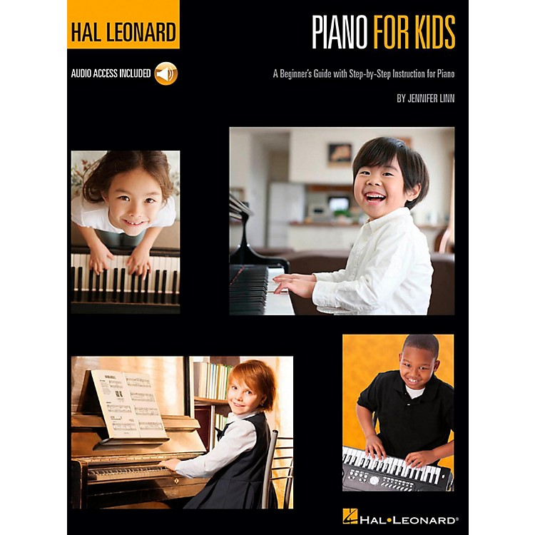 Hal LeonardHal Leonard Piano for Kids - A Beginner's Guide with Step-by-Step Instructions