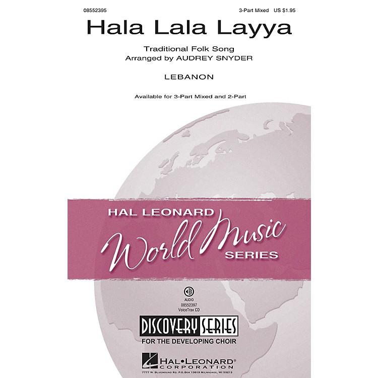Hal LeonardHala Lala Layya (Discovery Level 2) 2-Part Arranged by Audrey Snyder