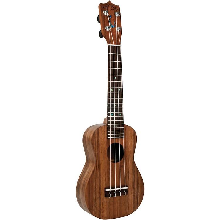 LanikaiHaleiwa Hawaiian-Made Solid Koa Soprano UkuleleNatural