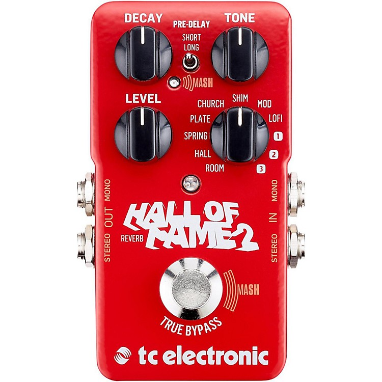 TC ElectronicHall of Fame 2 Reverb Effects Pedal