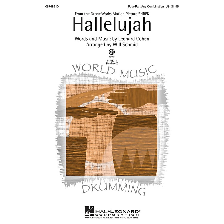 Hal LeonardHallelujah 4 Part Any Combination arranged by Will Schmid