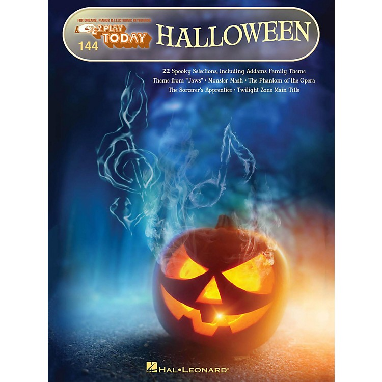 Hal Leonard Halloween E-Z Play Today Volume 144