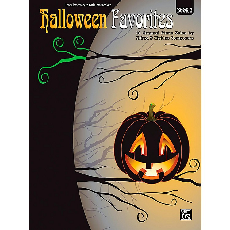 Alfred Halloween Favorites, Book 3 Late Elementary / Early Intermediate