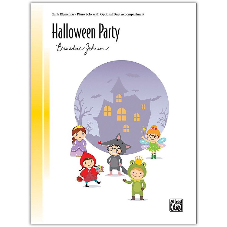 AlfredHalloween Party with Optional Duet Accompaniment Early Elementary