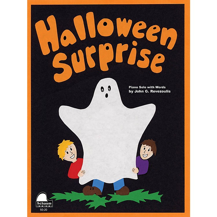 SCHAUMHalloween Surprise Educational Piano Series Softcover