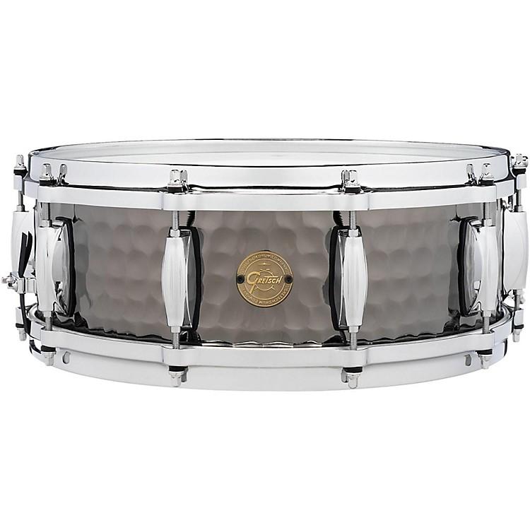 Gretsch DrumsHammered Black Steel Snare14 x 5 in.
