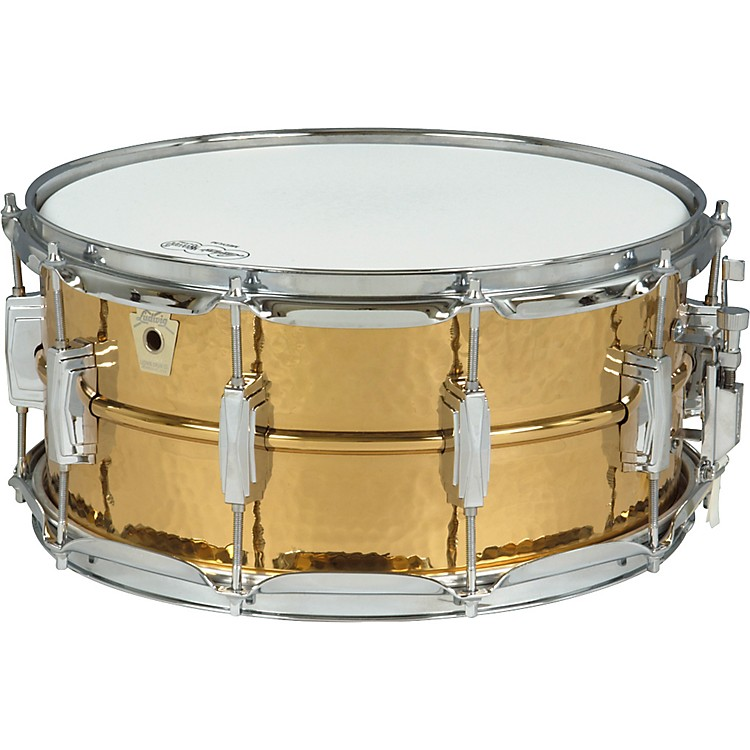 Ludwig Hammered Bronze Phonic Snare Drum  6.5x14