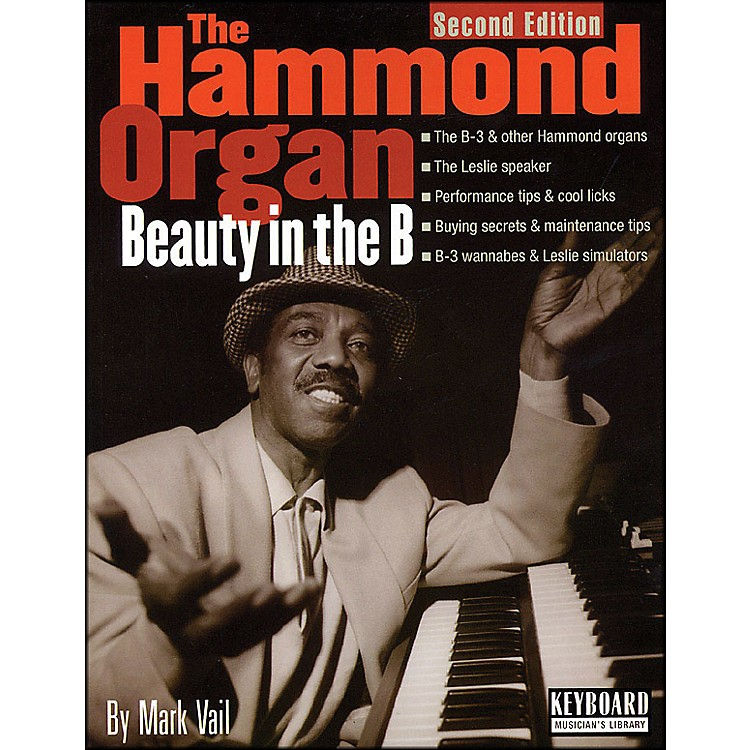 Backbeat BooksHammond Organ - Beauty In The B - 2nd Edition Softcover