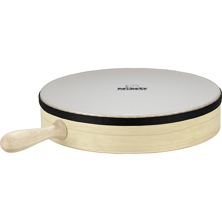 NinoHand Drum with HandleNatural10 in.
