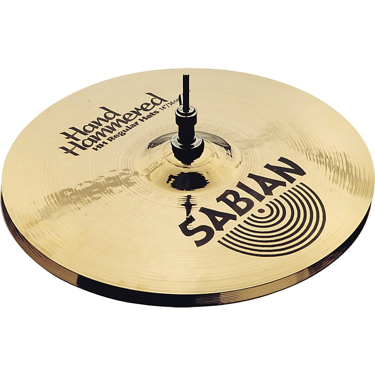 Sabian Hand Hammered Medium Hi-Hat Cymbals 14