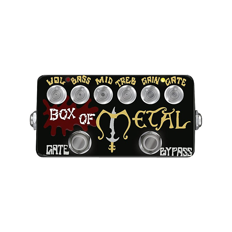 ZVexHand-Painted Box of Metal Distortion Guitar Effects Pedal