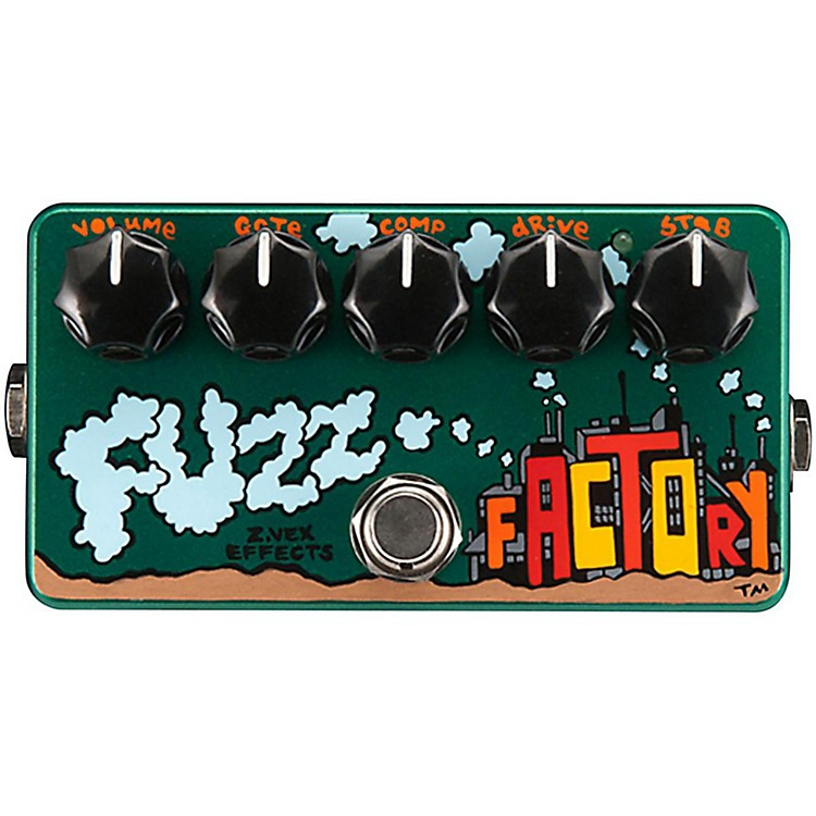 ZVexHand-Painted Fuzz Factory Guitar Effects Pedal