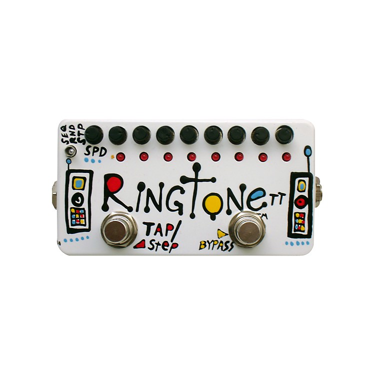 ZVexHand-Painted Ringtone TT Ring Modulation Guitar Effects Pedal