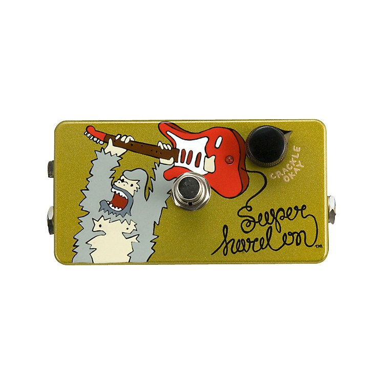 ZVexHand-Painted Super Hard On Boost Guitar Effects Pedal
