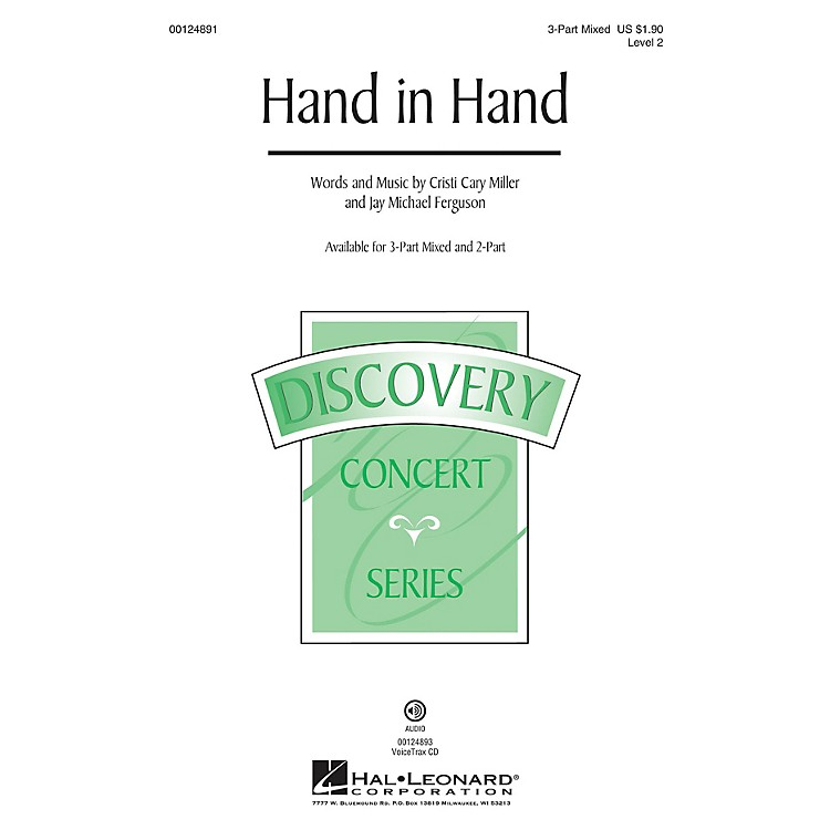 Hal Leonard Hand in Hand (Discovery Level 2) VoiceTrax CD Composed by Cristi Cary Miller