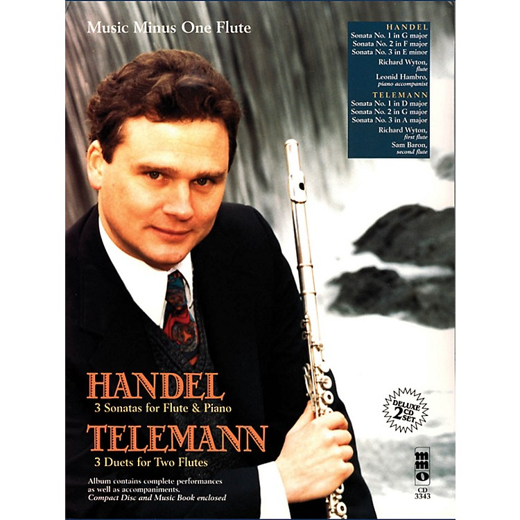 Music Minus OneHandel - Sonatas for Flute & Piano; Telemann - 3 Duets for Two Flutes Music Minus One BL/CD by Handel