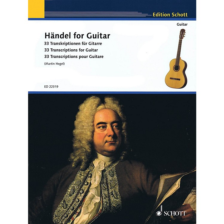 SchottHandel for Guitar (33 Transcriptions for Guitar) Guitar Series Softcover