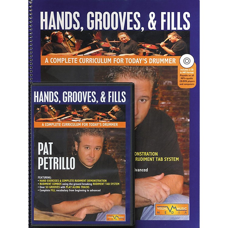 Hudson MusicHands Grooves and Fills Book and CD (A Complete Curriculum For Today's Drummer Book/CD/DVD)