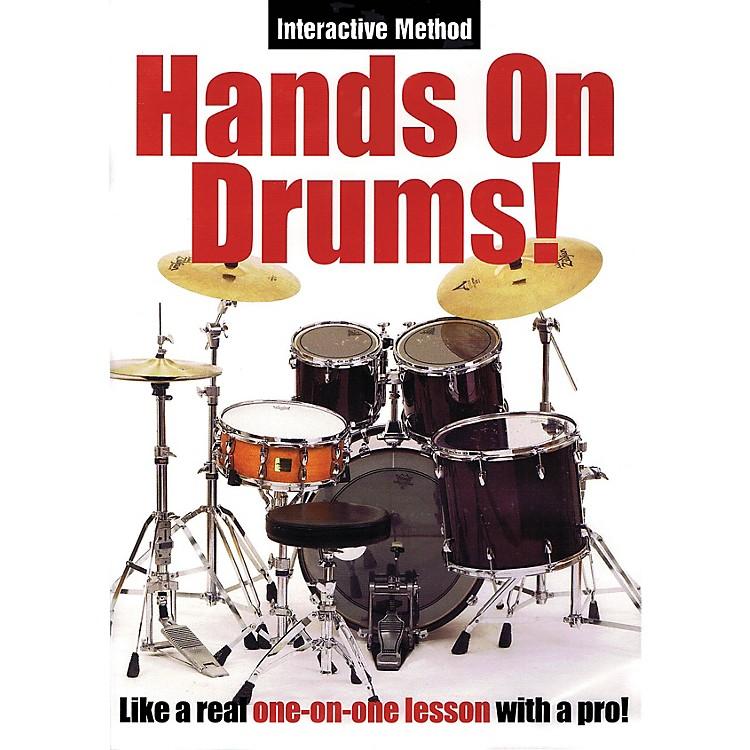 Music SalesHands On Drums! (Interactive Method) Music Sales America Series DVD Written by James Sloan