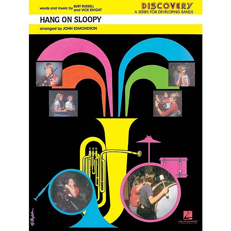 Hal LeonardHang On Sloopy Concert Band Level 1.5 Arranged by John Edmondson