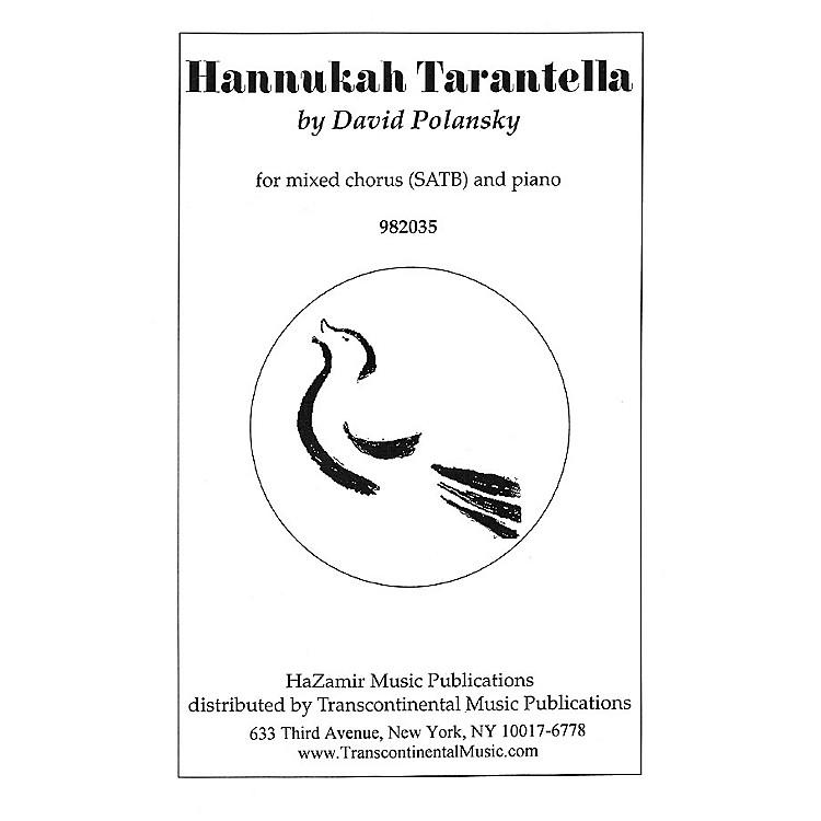 Transcontinental MusicHannukah Tarantella SATB arranged by Joshua Jacobson