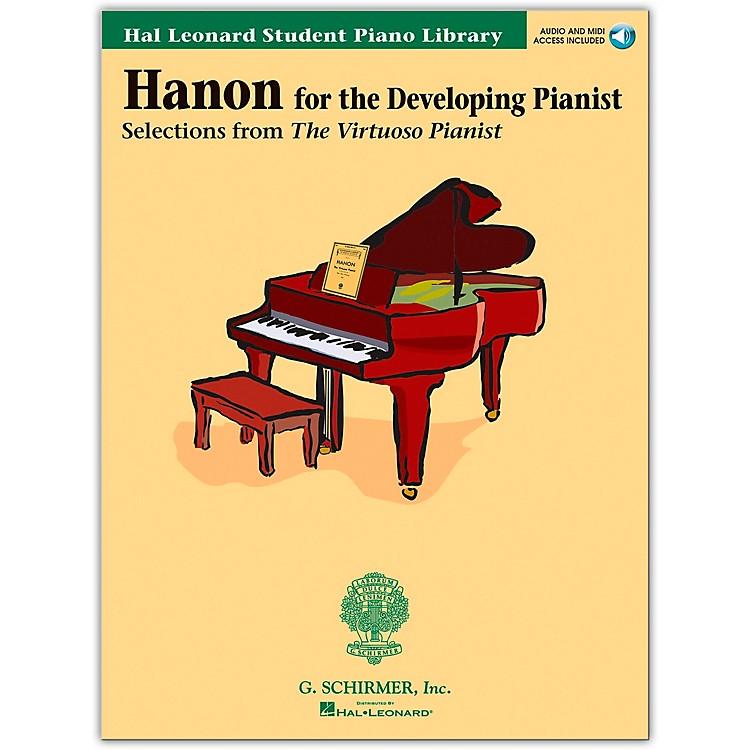 Hal LeonardHanon for the Developing Pianist Book/Online Audio