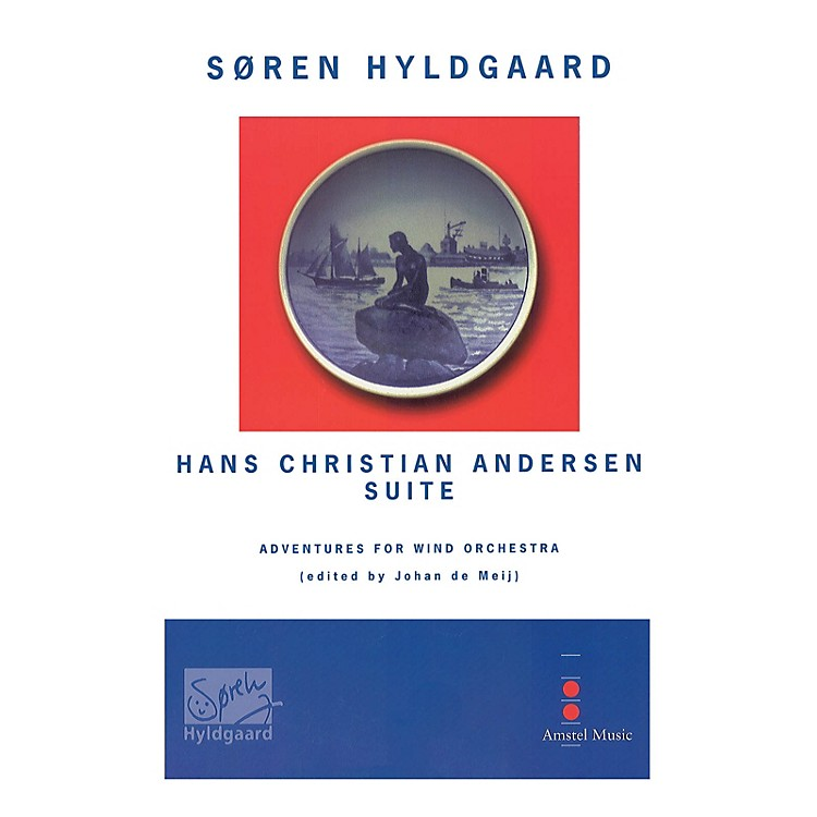 Amstel Music Hans Christian Andersen Suite (Parts Only) Concert Band Level 5 Composed by Soren Hyldgaard