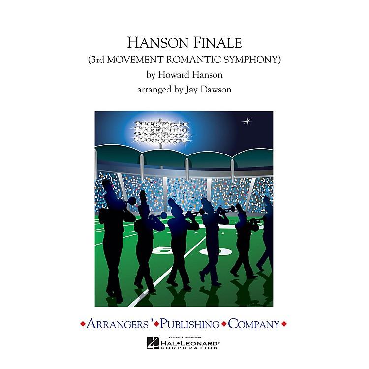 ArrangersHanson Finale Marching Band Arranged by Jay Dawson