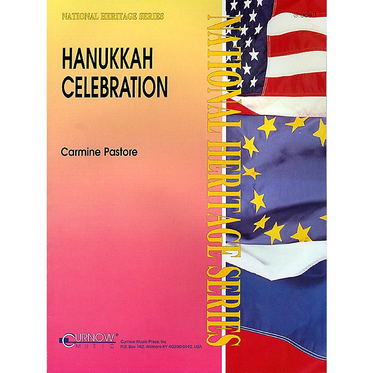 Curnow MusicHanukkah Celebration (Grade 1 - Score and Parts) Concert Band Level 1 Composed by Carmine Pastore