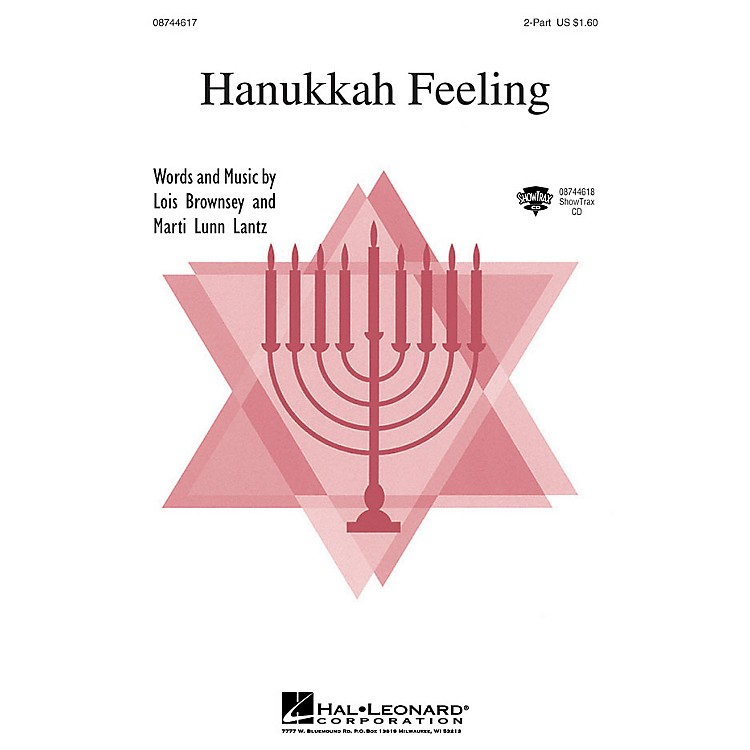 Hal Leonard Hanukkah Feeling ShowTrax CD Composed by Lois Brownsey and Marti Lunn Lantz