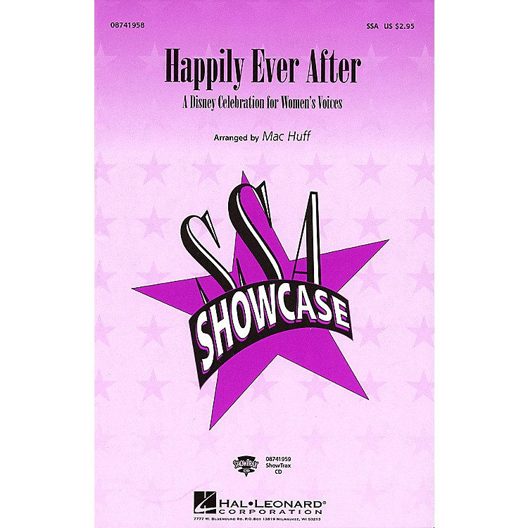 Hal Leonard Happily Ever After - A Disney Celebration for Women's Voices (Medley) SSA arranged by Mac Huff