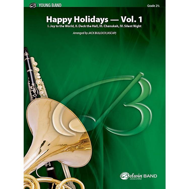 AlfredHappy Holidays, Vol. 1 Concert Band Grade 2 Set