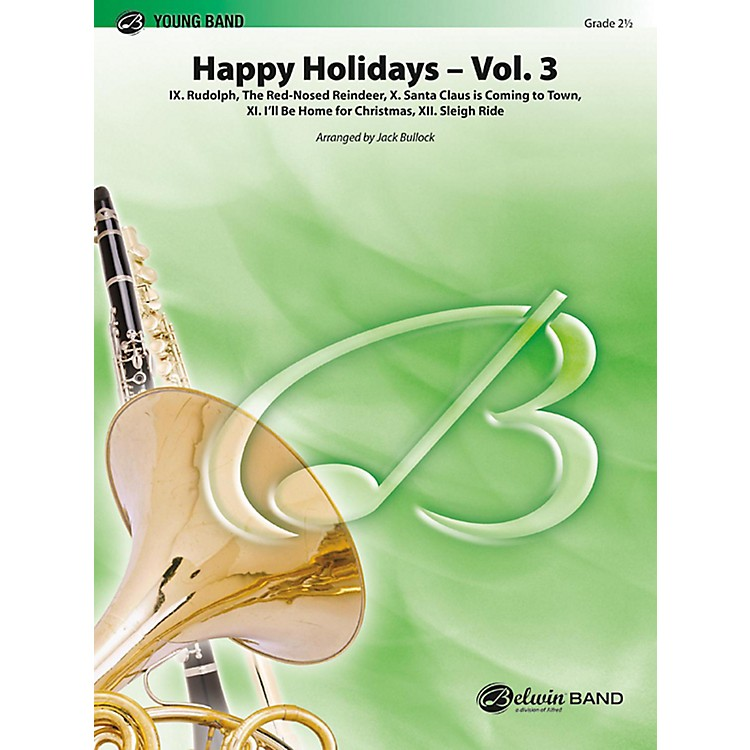 BELWIN Happy Holidays, Vol. 3 Grade 2 (Easy)