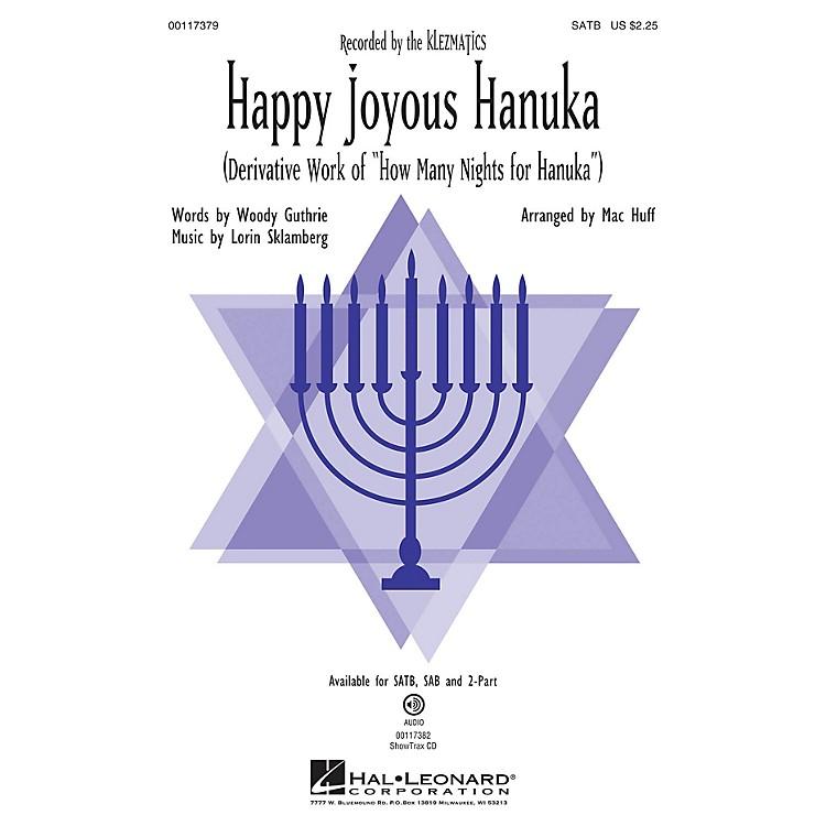 Hal LeonardHappy Joyous Hanuka SAB by Klezmatics Arranged by Mac Huff