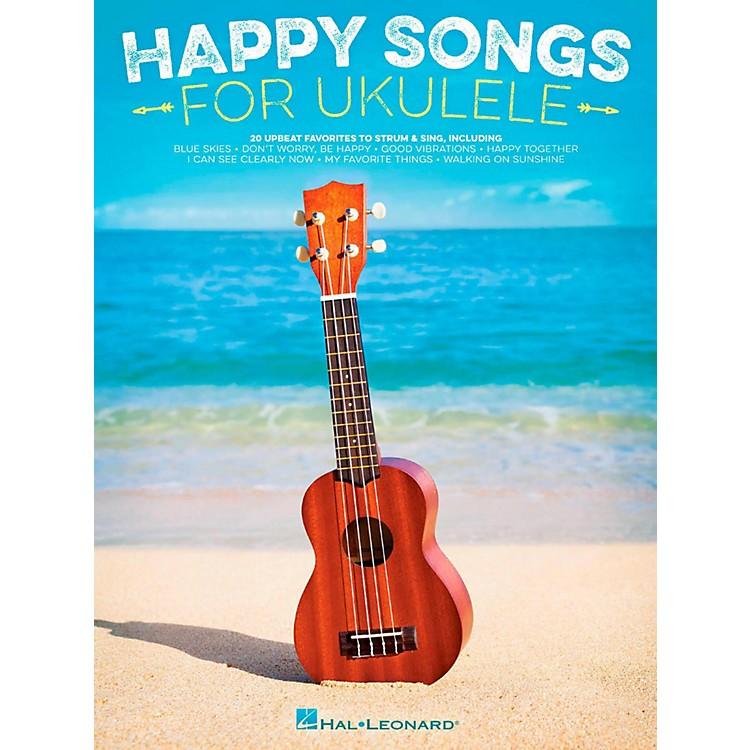 Hal LeonardHappy Songs for Ukulele - 20 Upbeat Favorites to Strum & Sing