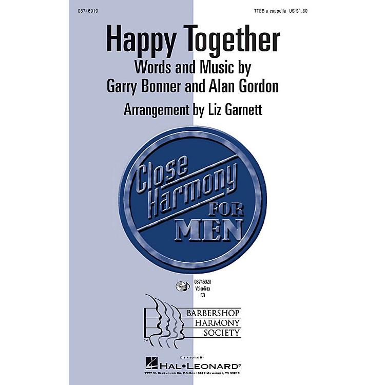 Hal LeonardHappy Together VoiceTrax CD by The Turtles Arranged by Liz Garnett