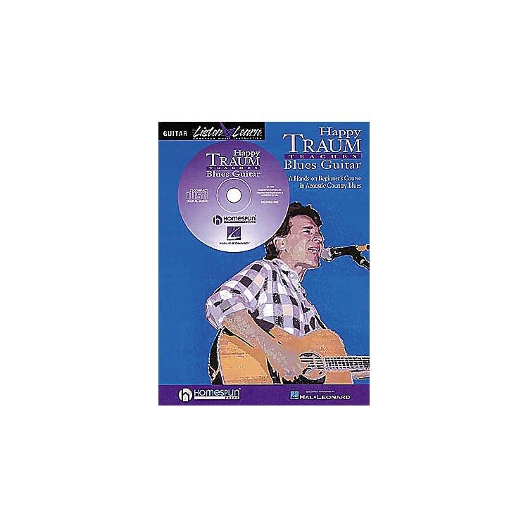 HomespunHappy Traum Teaches Blues Guitar (Book/CD)