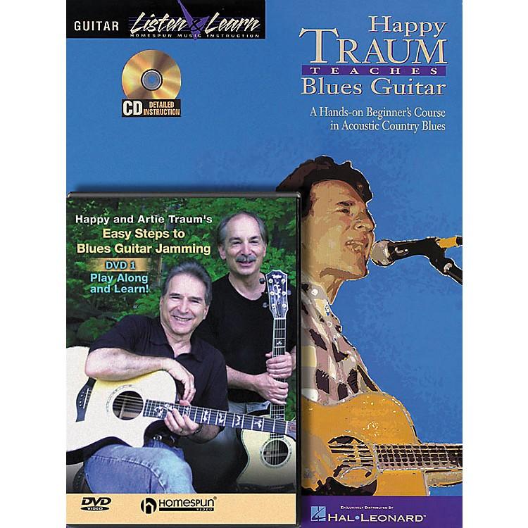 HomespunHappy Traum Teaches Blues Guitar pack
